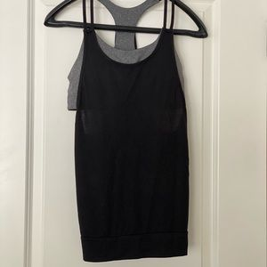 Work out top with in-sawn bra